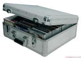 Citronic CDA:96 Aluminium CD flight case, 96 CDs - 127.060UK