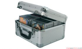 Citronic CDA:40 Aluminium CD flight case, 40 CDs. - 127.064UK