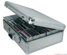Citronic CDA:120 Aluminium CD flight case, 120 CDs. - 127.066UK