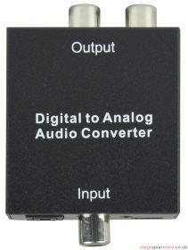 av:link - Digital Audio to Analogue Audio Converter- 128.510UK
