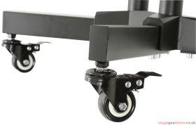 av:link TSL600 TV Bracket Trolley with Shelf - 129.206UK