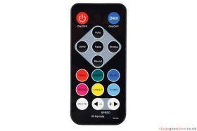 QTX PAR180+UV PAR180 High Power RGB+UV + remote - 154.039UK