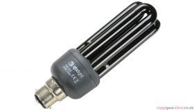 QTX Black Light UV Bulb Low Energy B22 20W - 160.023UK