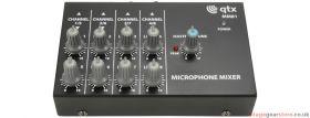 Qtx MM81 8 Channel Mini Microphone Mixer - 170.203UK