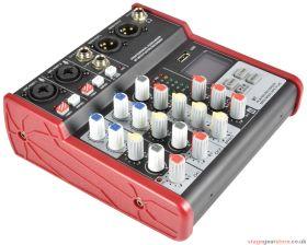 Citronic CSM-4 CSM-4 Mixer with USB / Bluetooth Player - 170.871UK