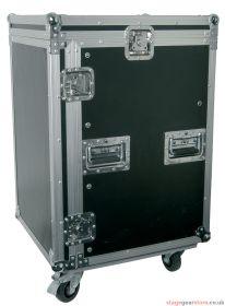 "Citronic RACK:16UX 16U 19"" rack case with wheels - 171.721UK"