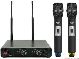 Chord - SU20 Dual UHF Handheld Microphone Set Blue + Yellow- 171.908UK