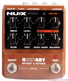 Nux ROCTARY NUX Roctary Effects Pedal - 173.314UK