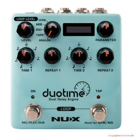 Nux - NuX Duo Time Dual Delay Pedal- 173.374UK