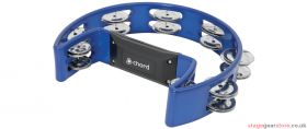 Chord TAMB-SD-BL Tambourine - Single D blue - 173.782UK