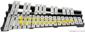 Chord CGLS30 Glockenspiel 30 Notes - 173.816UK