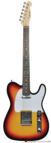 Chord CAL62-3TS CAL62 Guitar 3 Tone sunburst - 174.370UK