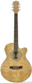 Chord - N4CA Native Curly Ash electro-acoustic guitar- 175.098UK