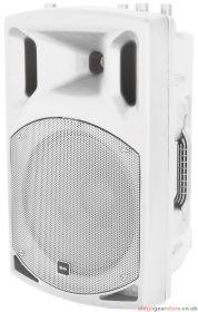 Qtx QX12A-WHITE QX12A-White Active Speaker - 179.755UK