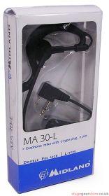 Midland MA30-L Earphone Mic - 270.511UK
