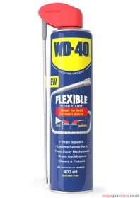 WD40 Lubricant Flexible Straw 400ml - 701.310UK