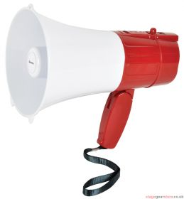 Adastra - Rechargeable Megaphone USB/SD, looper and Bluetooth- 952.025UK