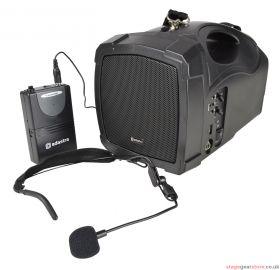 Adastra - H25B Handheld PA with Neckband Mic, USB, FM & Bluetooth- 952.412UK