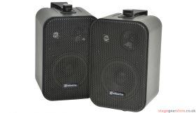 "Adastra B30V-B 100V Line Speakers 4"" 30W Black Pair - 952.887UK"