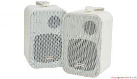 "Adastra B30V-W 100V Line Speakers 4"" 30W White Pair - 952.888UK"