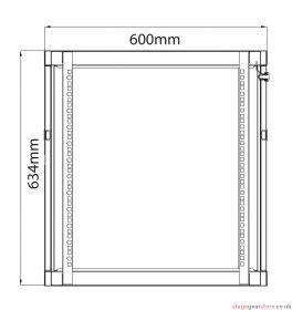 Adastra - Rack Cabinet 12U x 450mm Deep- 953.512UK