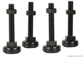 Adastra - Adjustable feet for Rack Cabinets - Set of 4- 953.541UK