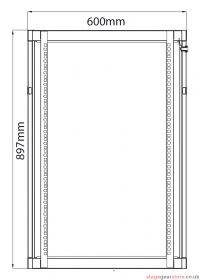 Adastra - Rack Cabinet 18U x 600mm Deep- 953.618UK