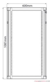 Adastra - Rack Cabinet 22U x 600mm Deep- 953.622UK