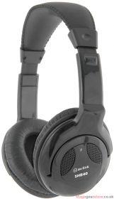 av:link - SHB40 Black Stereo Hi-Fi Headphones 6.3mm- 999.001UK