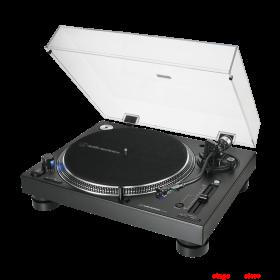 Audio Technica AT-LP140XPSVU Professional Direct Drive DJ Turntable - Silver