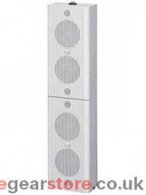 TOA BS-1120W Column Speaker, 20W (100v), 720mm high, White