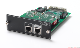 BSS BLU-SI 32 x 32 interface between Soundcraft Si consoles and BLU Link digital audio bus