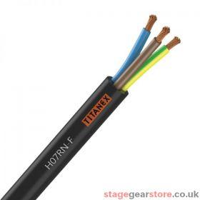 Titanex H07-RNF 6mm 3 Core Rubber Cable 100m