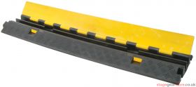 Cable Guard Crossover Cable Ramp, 2 x 30mm/sq channels