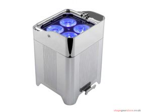 Chauvet Professional WELL Fit 6-pack (chrome) in charging case
