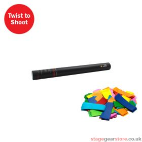 The Confetti Maker Handheld Confetti Cannon 50cm Multicoloured