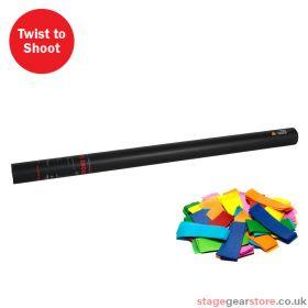The Confetti Maker Handheld Confetti Cannon 80cm Multicoloured