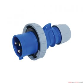 PCE 32A 230V 2P+E IP67 Plug (0232-6)