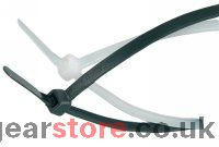 Cable Tie 300mm x 4.8mm (Pack 100) Black