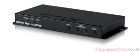 CYP SY-4KS-4K22 HDMI 4K Scaler with Dual outputs & HDCP Converter (4K, HDCP2.2, HDMI2.0)