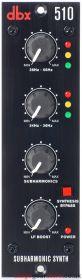 DBX 510 500 Series Subharmonic Synthesizer Module 1U/3U