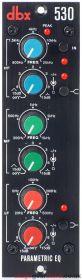 DBX 530 500 Series Parametric Equalizer Module 1U/3U