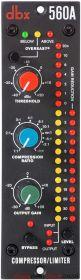 DBX 560A 500 Series Compressor / Limiter Module 1U/3U