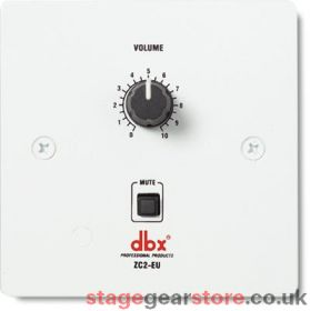 DBX ZC-2 - Wall-Mounted Zone Controller
