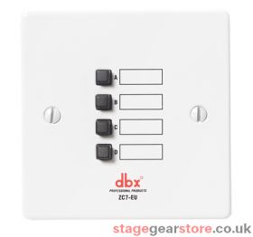 DBX ZC-7 - Wall-Mounted Zone Controller