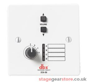 DBX ZC-8 - Wall-Mounted Zone Controller