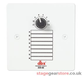DBX ZC-9 Wall-Mounted Zone Controller