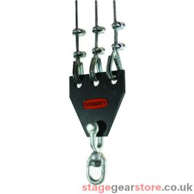 Doughty T41300 - Swivel Clew 3 Way 500kgs