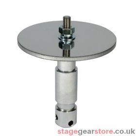 Doughty T72900 - M12 TV Spigot With 100mm Followspot Plate