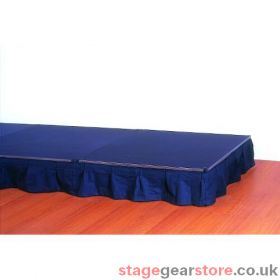 Doughty T77950 Easydeck Stage - Bolton Twill Valance 250mm x 6m